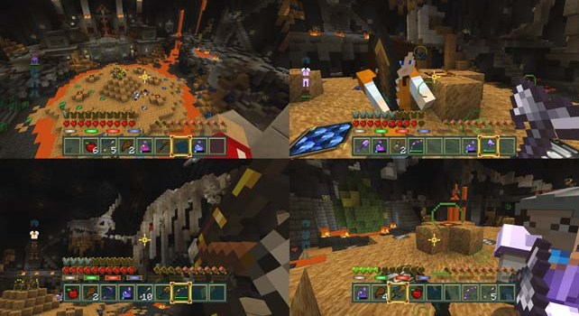 Minecraft battle mini game out now amp free on consolesgert lush gaming