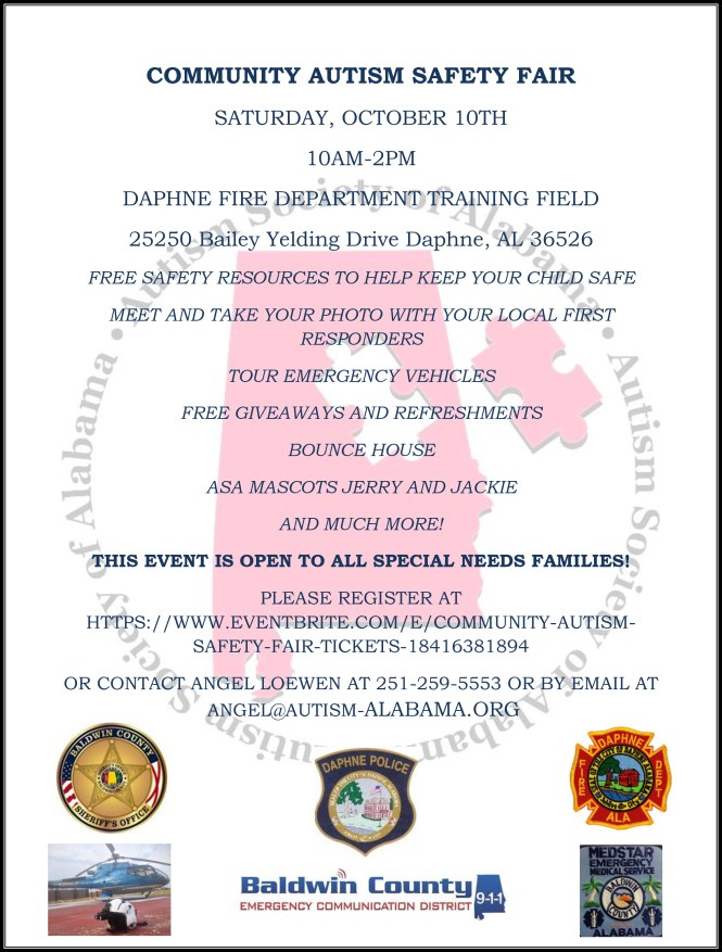 New COMMUNITY AUTISM SAFETY FAIR