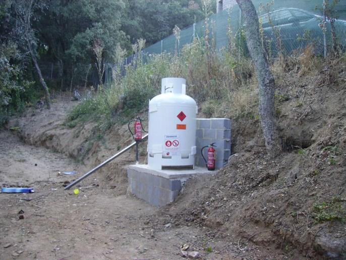 Bombona Primagas en Vallgorguina