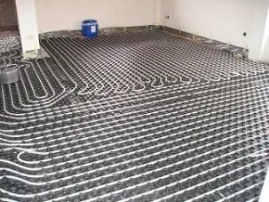 Calefacción de suelo radiante