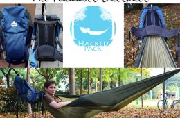 The HackedPack is the Backpack with a Hammock