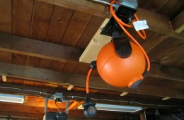 RoboReel Ceiling Mount Power Cord System