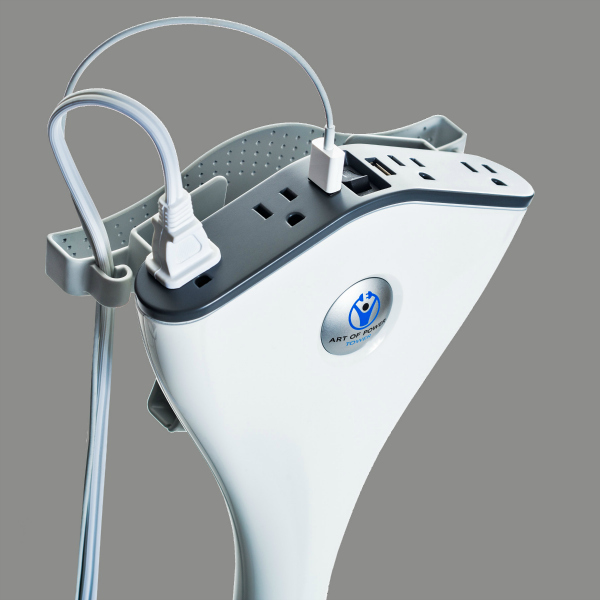 No Extension Cords : The art of power tower extension cord getdatgadget