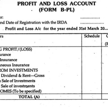 Profit And Loss Worksheet Format Archives - Excel Templates