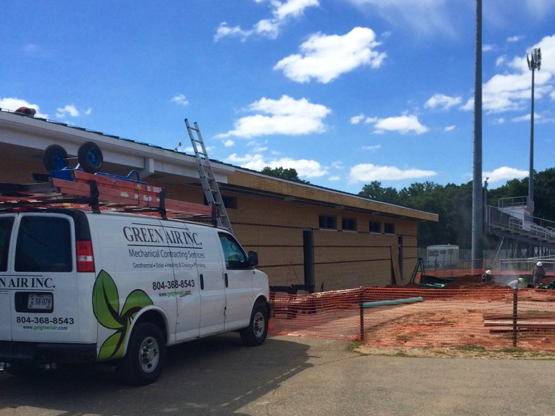 Goochland High School Install