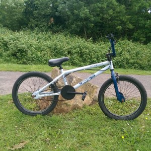 X-Rated Hustle BMX Bike Blue