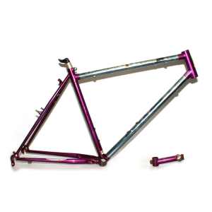 "Raleigh M-Trax S1000 19"" 1994 Hardtail Purple Frame & Stem"