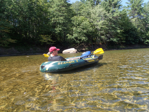 Floating down the Saco - Erick Johnson