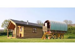 Hill Side Gypsy Caravan Holidays, Shropshire