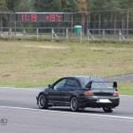 Mitsubishi Evo back