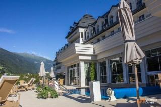 Grandhotel Lienz outdoor pool