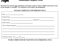 maintenance request form 44