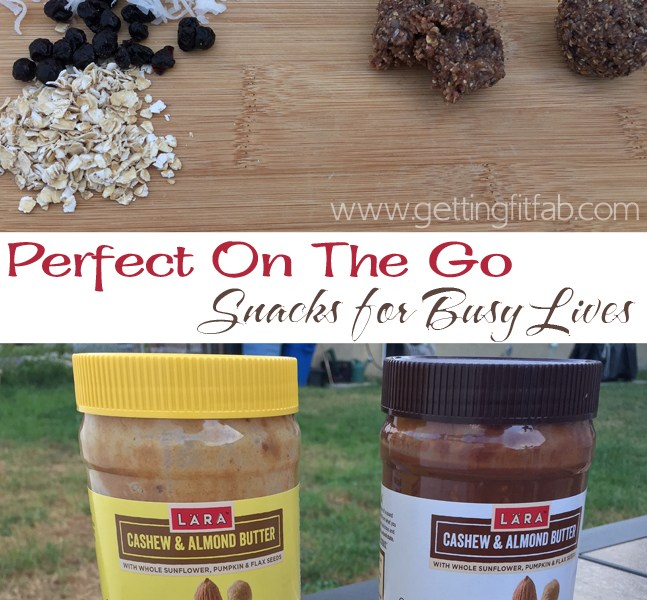Perfect On The Go Snacks for Busy Lives  #LaraNutButter