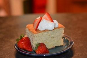 Orange Chiffon Cake. gfandme.com