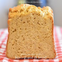 gluten free and dairy free sandwich bread – it's awesome!