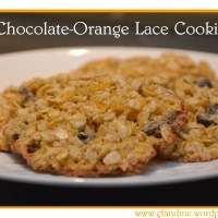 chocolate-orange lace cookies – no flour required