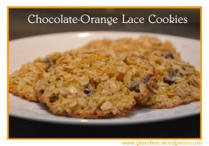 gluten free chocolate orange cookies. gfandme.com