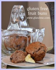 gluten free fruit buns
