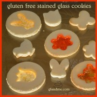 stained glass Easter cookies - gluten free, of course!