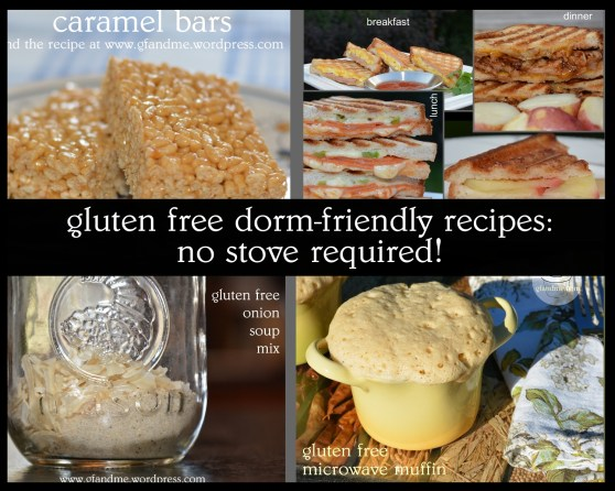 Quick & Easy gluten free recipes