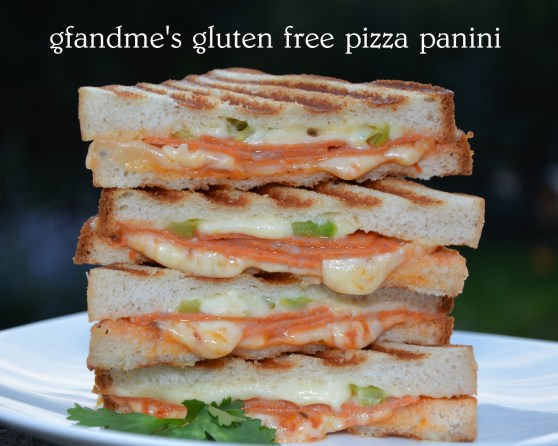 gluten free pizza panini