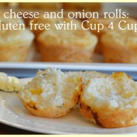 gluten free cheese and onion rolls: soooo easy to do