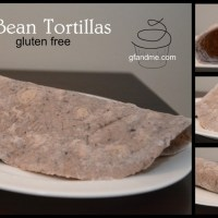 gluten free tortillas made with black beans