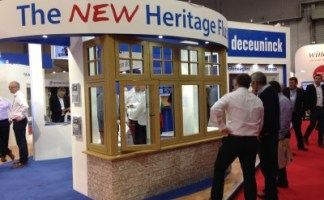 Deceuninck's new Heritage Flush Sash window was a hit at The FIT Show