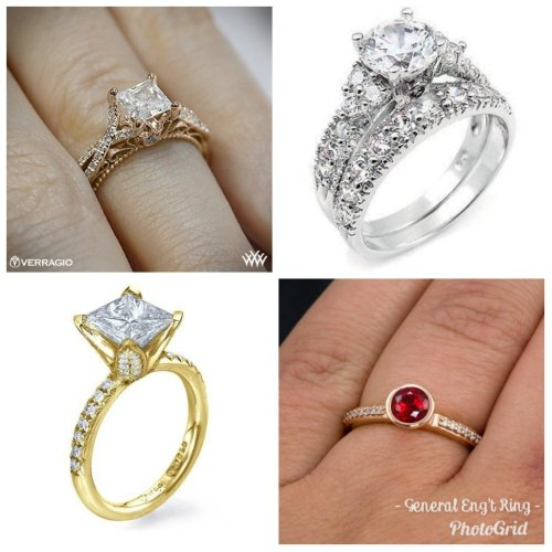 Medium Crop Of Types Of Engagement Rings