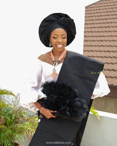 Beatiful Pictures from Actress, Lala Akindoju & Chef Fregz Wedding