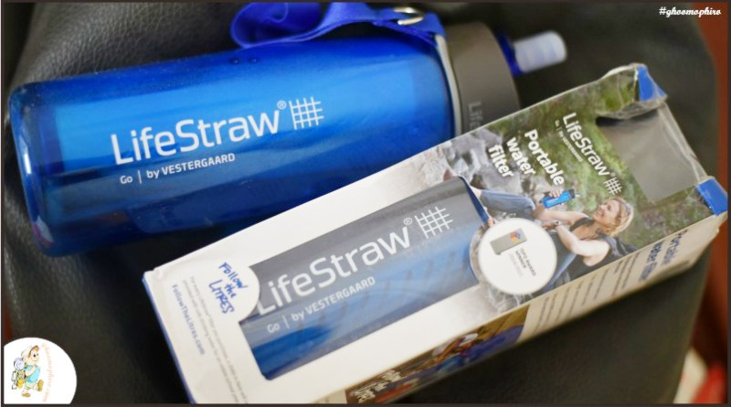 Lifestraw portable water bottle- A handy water filter for bag-packer