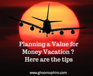 Planning a Value for Money Vacation