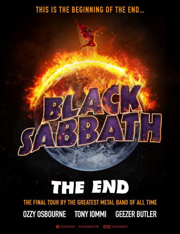 black sabbath the end us tour 2016