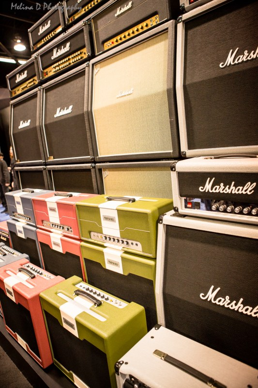 Marshall Amps at The NAMM Show, by Melina D Photography