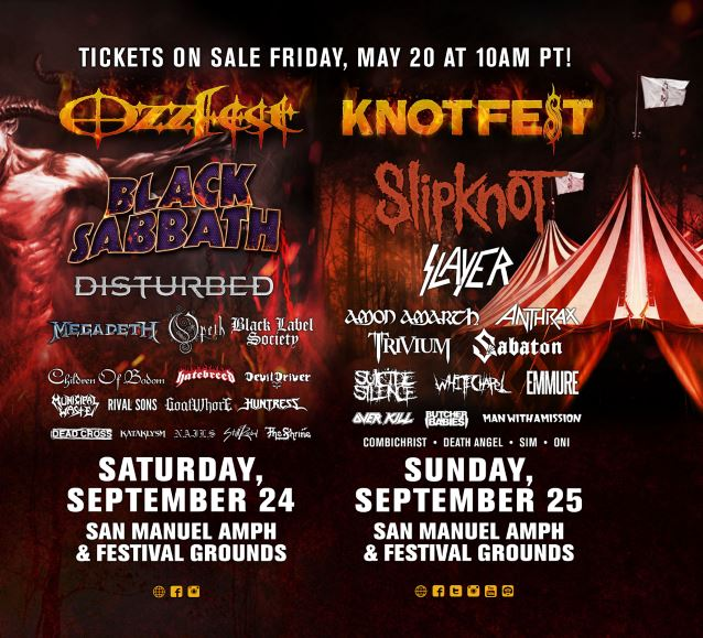 ozzfest knotfest 2016 ghostcultmag