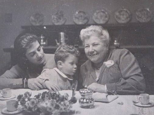 1951 – Silvia e Francesco Sanvilli – Mamma Silvia