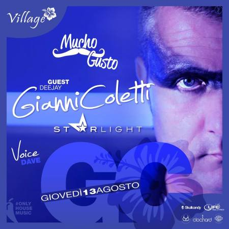 "Gianni Coletti ""Dj Set House Story"" @ ‪VILLAGE – Varese 100% Summer Beach"