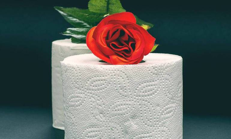 bigstock-White-Toilet-Paper-With-Red-Ro-87470543