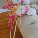 DIY Stick Ponies For Less Than $2.00 Each!