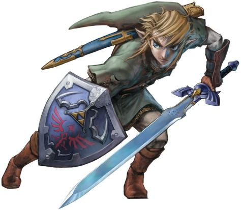 His name is Link?! But for years his name was Alex, Zelda, or Fopquarf. . .