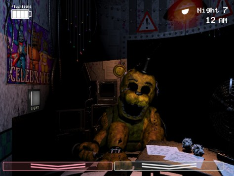 Golden Freddy could be one of the original animatronics. It's also possible that the diner had suits instead of machines...