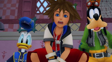 Sora can't believe the whole game was remade either.