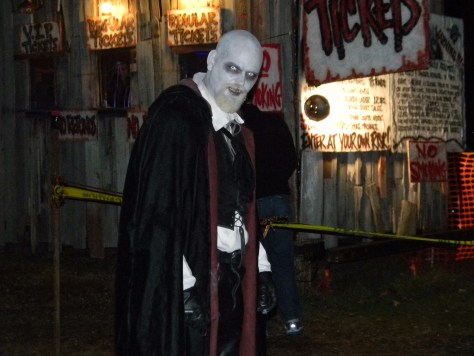 Deimos Nosferatu, the caretaker of the Haunted Jail in 2012. Photo by Nathan Marchand.