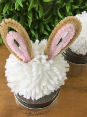DIY bunny topper