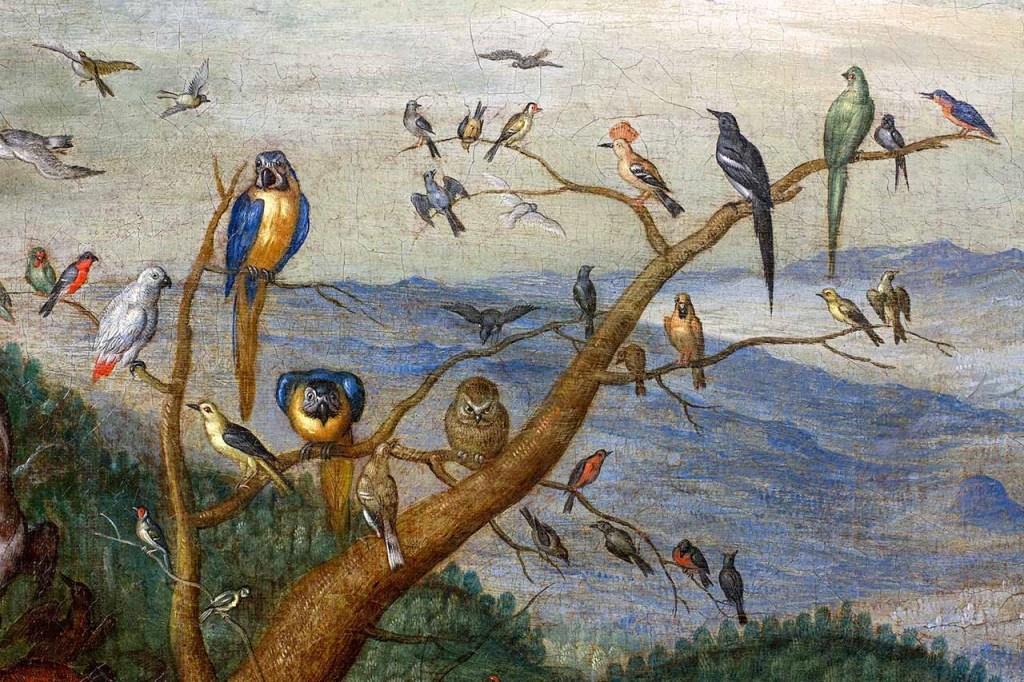 Brueghel - The Elements - Air (Macro Details) 01