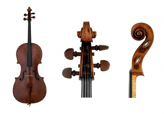 Cello by Antonio Stradivari circa 1730