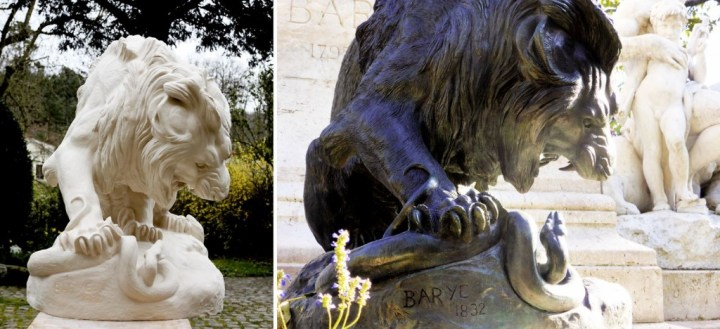 Barye Lion au Serpent Ateliers Gilles Perrault 2014