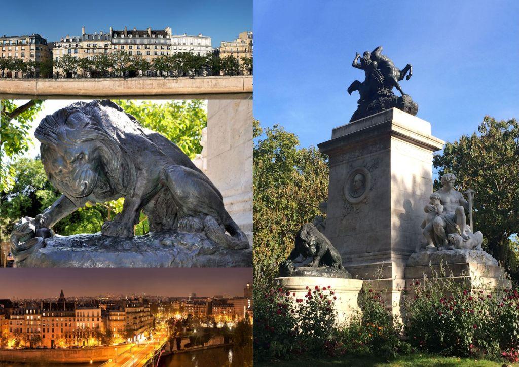 Monument de Barye à Paris 02