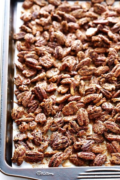 Candied Pecans | Gimme Some Oven
