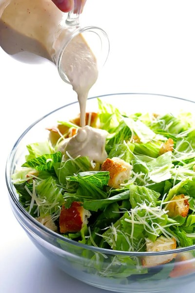 Greek Yogurt Caesar Dressing | Gimme Some Oven